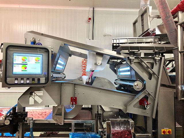 Mašina za optičko sortiranje voća Tomra Blizzard 640