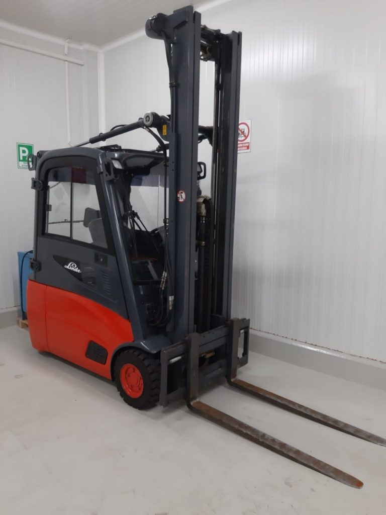 Transportation of IQF fruits in chambers