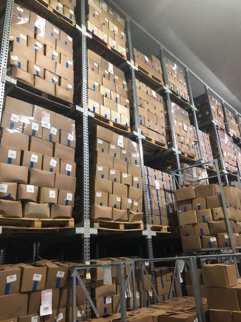Miker Produkt cold storage